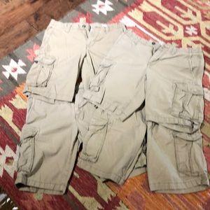 Set of 4 Gap Cargo Shorts